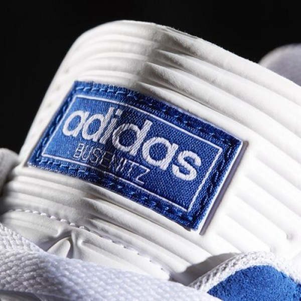 Adidas Busenitz Pro Homme Collegiate Royal/Footwear White Originals Chaussures NO: BB8433