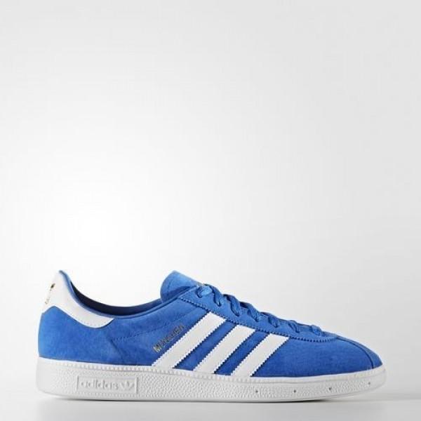 Adidas München Femme Blue/Footwear White Original...