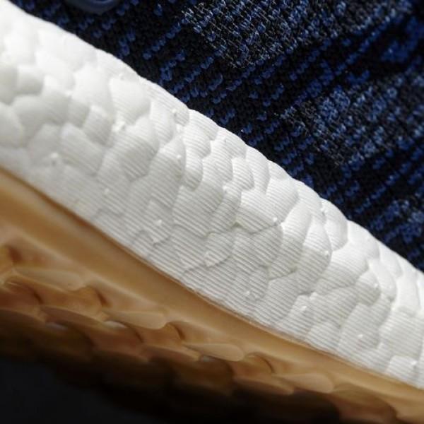 Adidas Pure Boost Femme Core Blue/Linen/Night Navy Running Chaussures NO: BA8896
