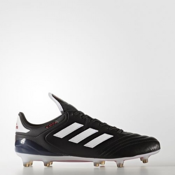 Adidas Copa 17.1 Terrain Souple Homme Core Black/Footwear White/Red Football Chaussures NO: BA8515