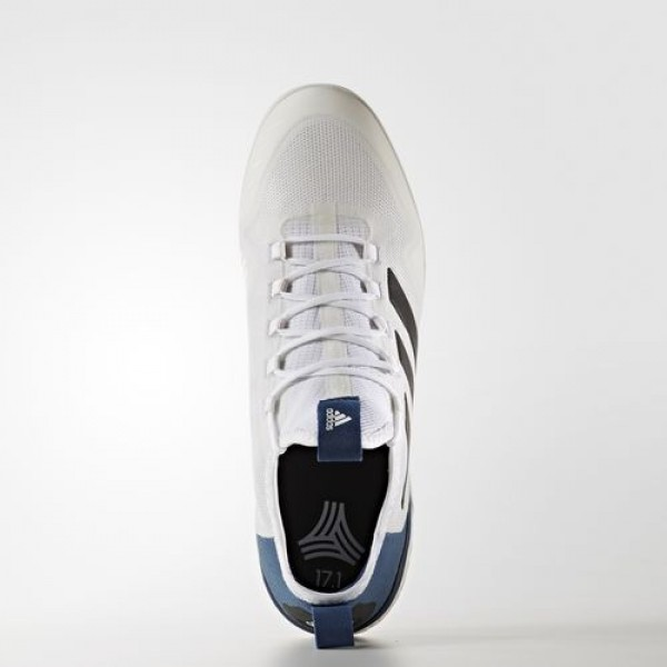 Adidas Ace Tango 17.1 Indoor Homme Footwear White/Core Black/Mystery Blue Football Chaussures NO: BA8536