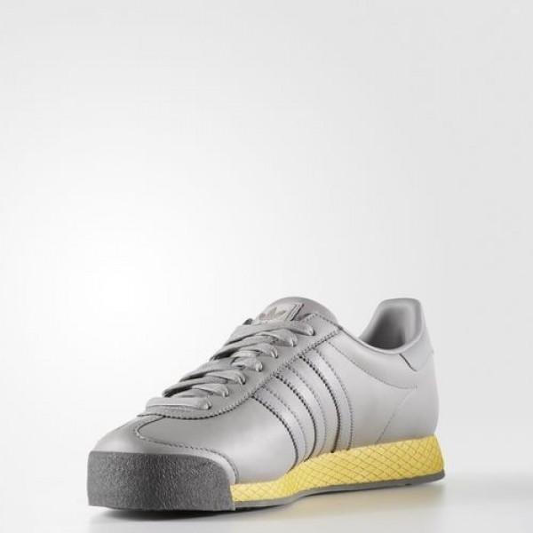 Adidas Samoa Vintage Homme Light Granite/Bold Gold Originals Chaussures NO: BB8597