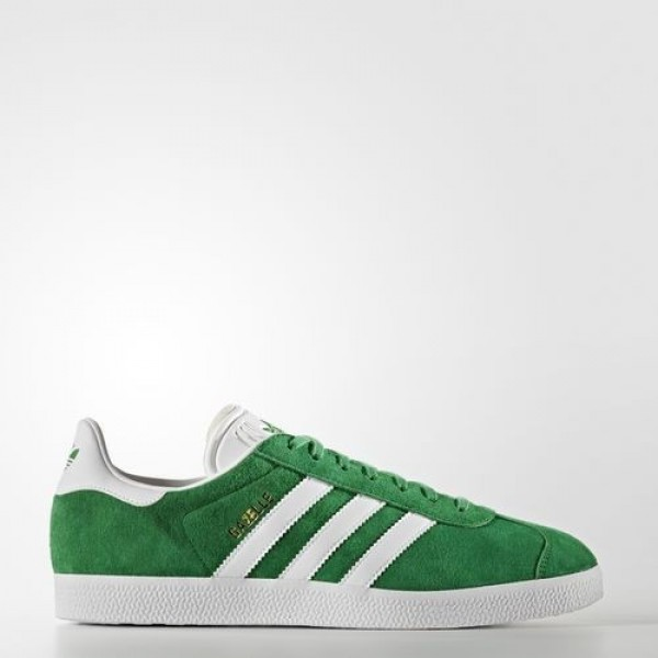 Adidas Gazelle Homme Green/White/Gold Metallic Ori...