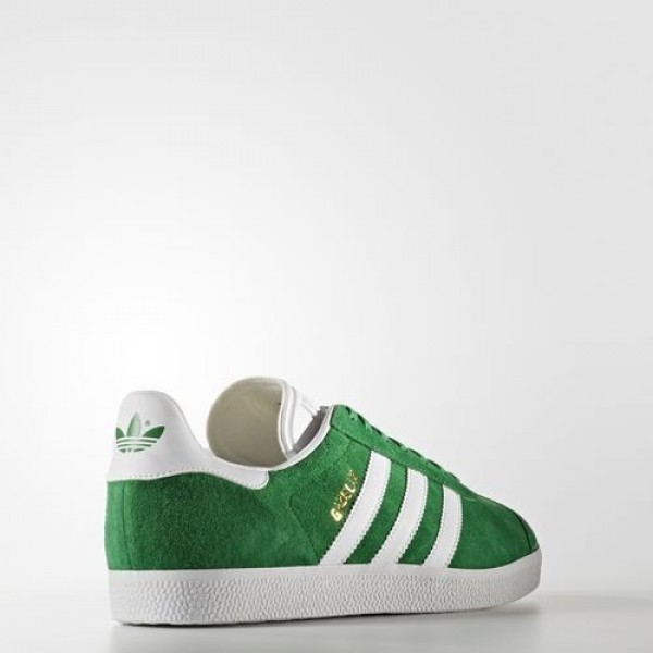 Adidas Gazelle Homme Green/White/Gold Metallic Originals Chaussures NO: BB5477
