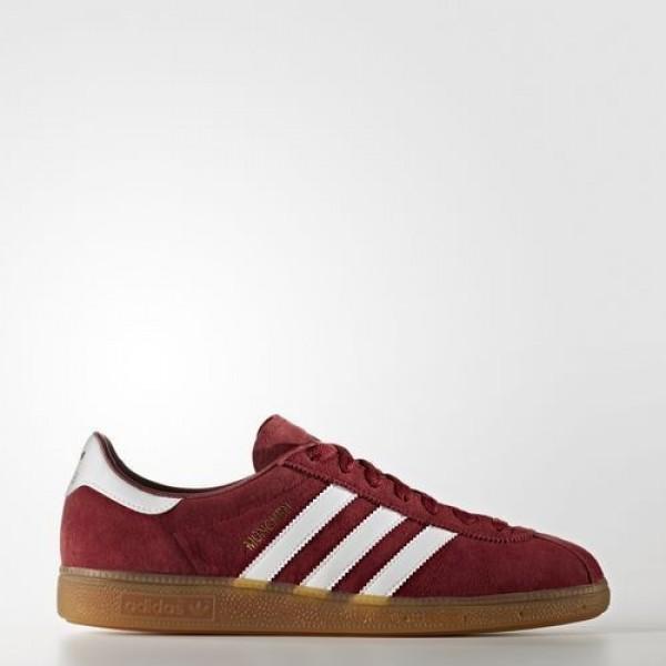 Adidas München Homme Collegiate Burgundy/Footwear...