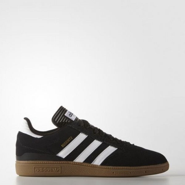 Adidas Busenitz Homme Core Black/Footwear White/Gold Metallic Originals Chaussures NO: G48060