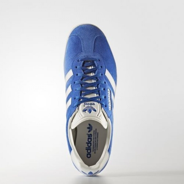 Adidas Gazelle Super Homme Blue/Vintage White/Gold Metallic Originals Chaussures NO: BB5241