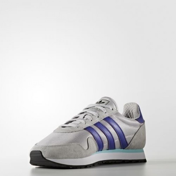 Adidas Haven Homme Lgh Solid Grey/Purple/Clear Aqua Originals Chaussures NO: BB1287