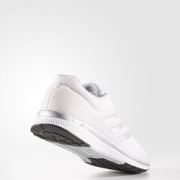 Adidas Mana Bounce Femme Footwear White/Silver Metallic/Core Black Running Chaussures NO: B39027