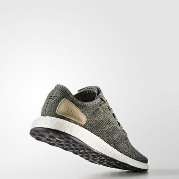 Adidas Pure Boost Homme Trace Green/Night Cargo/Utility Ivy Running Chaussures NO: BA8903