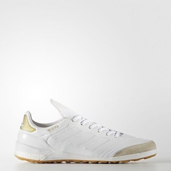 Adidas Copa Tango 17.1 Crowning Glory Homme Footwear White/Gold Metallic Football Chaussures NO: BA7618
