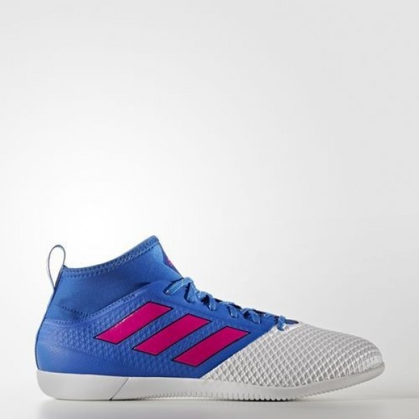 Adidas Ace 17.3 Primemesh Indoor Homme Blue/Shock Pink/Footwear White Football Chaussures NO: BB1761