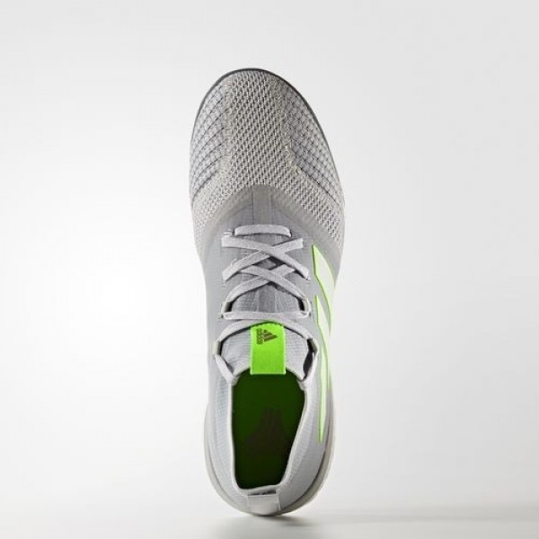Adidas Ace Tango 17.1 Homme Clear Onix/Footwear White/Solar Green Football Chaussures NO: BB4744