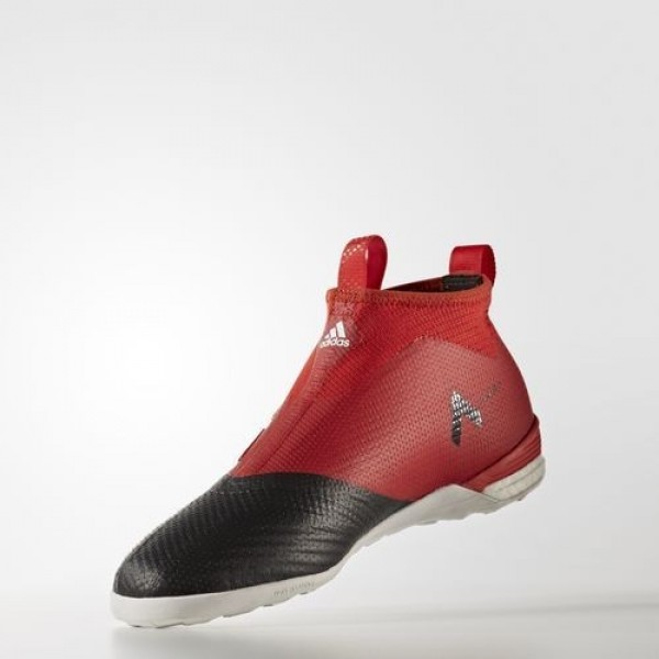 Adidas Ace Tango 17+ Purecontrol Indoor Homme Red/Footwear White/Core Black Football Chaussures NO: BY2819