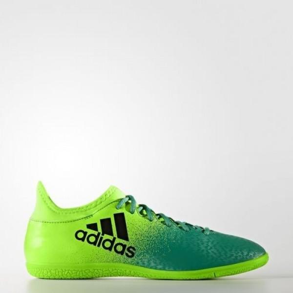 Adidas X 16.3 Indoor Homme Solar Green/Core Black/...