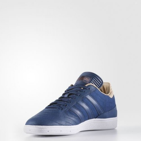 Adidas Busenitz Pro Homme Mystery Blue/Footwear White/Pale Nude Originals Chaussures NO: BB8435