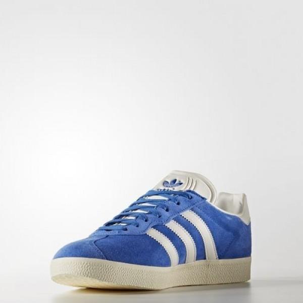 Adidas Gazelle Super Femme Blue/Vintage White/Gold Metallic Originals Chaussures NO: BB5241