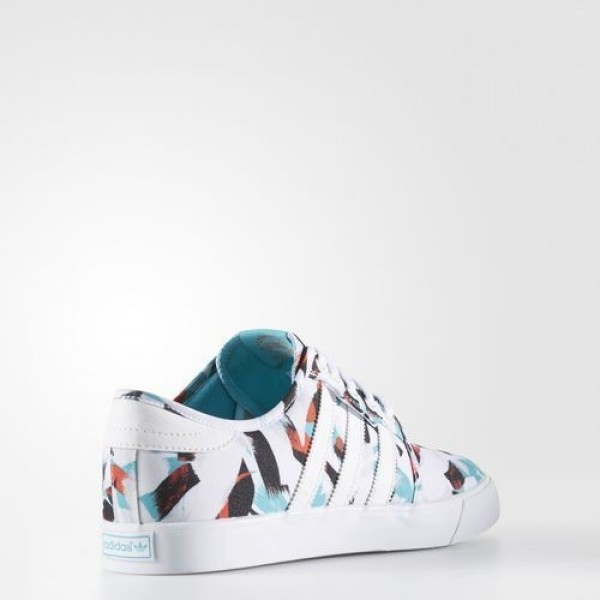 Adidas Seeley Homme Footwear White/Energy Blue/Energy Originals Chaussures NO: BB8466
