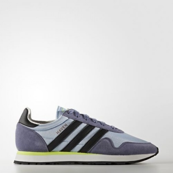 Adidas Haven Homme Easy Blue/Core Black/Solar Yell...