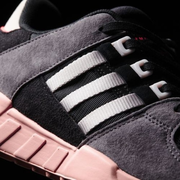 Adidas Eqt Support Rf Femme Core Black/Ice Purple/Haze Coral Originals Chaussures NO: BA7594