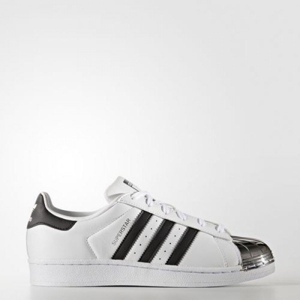 Adidas Superstar 80S Femme Footwear White/Core Black/Silver Metallic Originals Chaussures NO: BB5114