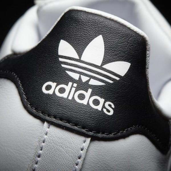 Adidas Superstar 80S Femme Footwear White/Core Black/Silver Metallic Originals Chaussures NO: BB5114