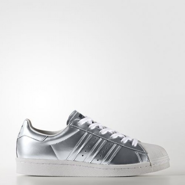 Adidas Superstar Boost Femme Silver Metallic/Footw...