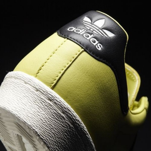 Adidas Superstar Boost Homme Bliss Lime/Core Black/Off White Originals Chaussures NO: BB2730