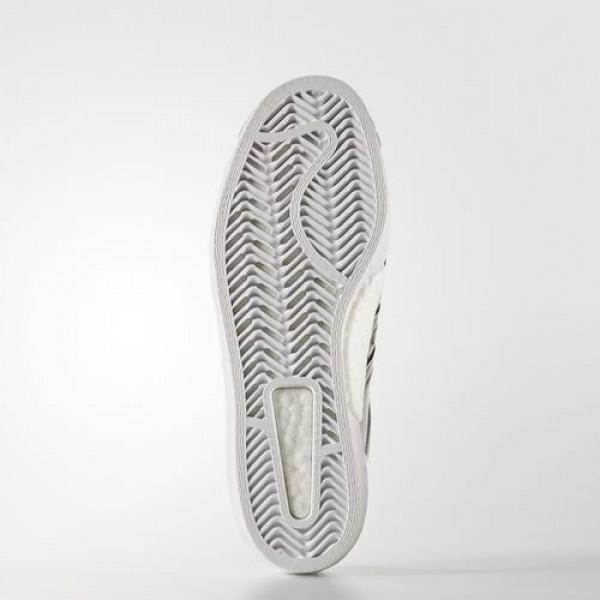 Adidas Superstar Boost Femme Silver Metallic/Footwear White Originals Chaussures NO: BB2271