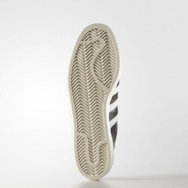 Adidas Superstar 80S Homme Core Black/White/Chalk White Originals Chaussures NO: G61069