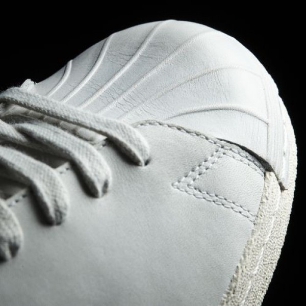 Adidas Superstar 80S Clean Femme Crystal White/Off White Originals Chaussures NO: BB0169