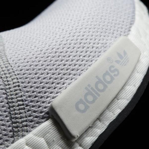 Adidas Nmd_R1 Femme White/ White/Bright Cyan Originals Chaussures NO: S31511
