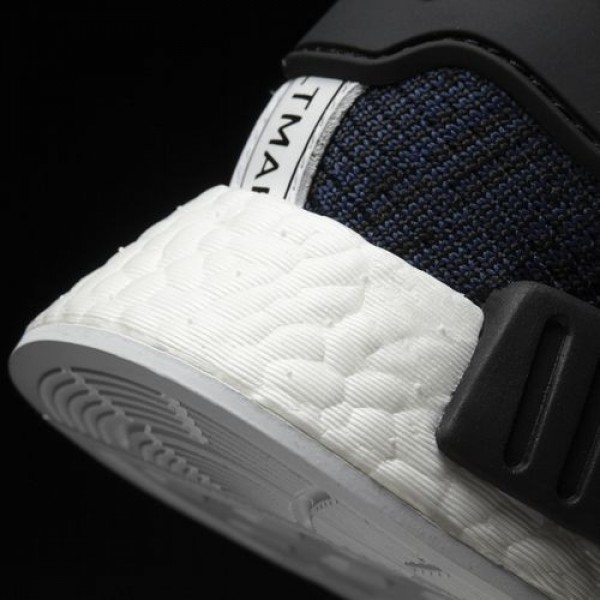 Adidas Nmd_R1 Homme Mystery Blue/Core Black/Collegiate Navy Originals Chaussures NO: BY2775