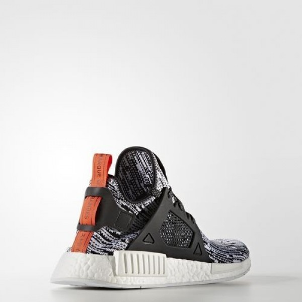 Adidas Nmd_Xr1 Primeknit Homme White/Core Black/Semi Solar Red Originals Chaussures NO: S32216