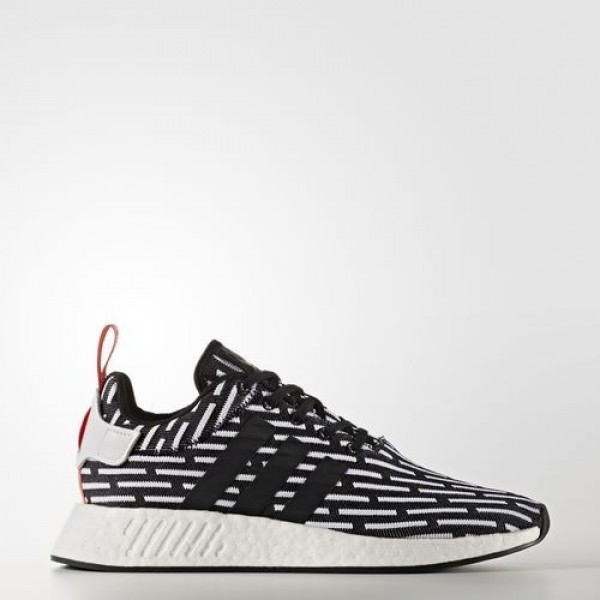 Adidas Nmd_R2 Primeknit Femme Core Black/Footwear ...