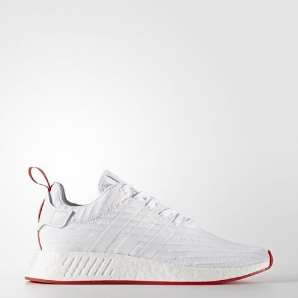 Adidas Nmd_R2 Primeknit Homme Footwear White/Core ...