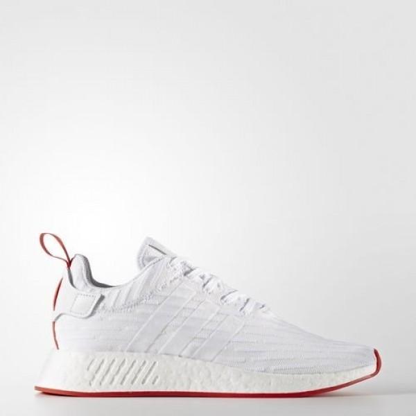 Adidas Nmd_R2 Primeknit Homme Footwear White/Core ...