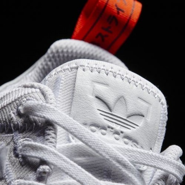 Adidas Nmd_R2 Primeknit Homme Footwear White/Core Red Originals Chaussures NO: BA7253