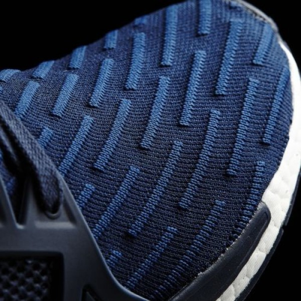 Adidas Nmd_Xr1 Primeknit Homme Collegiate Navy/Core Red Originals Chaussures NO: BA7215