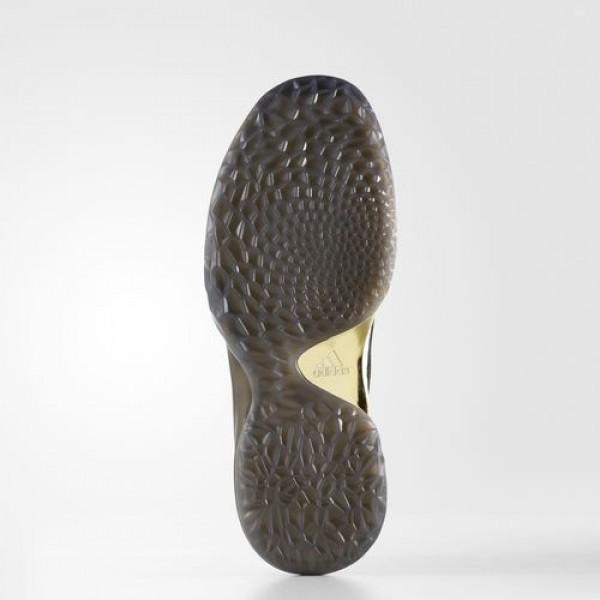 Adidas Harden Vol. 1 Homme Core Black/Utility Black/Gold Metallic Basketball Chaussures NO: BW0545