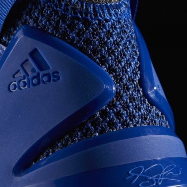 Adidas D Rose 7 Homme Blue Solid/Core Black/Gold Metallic Basketball Chaussures NO: BB8290