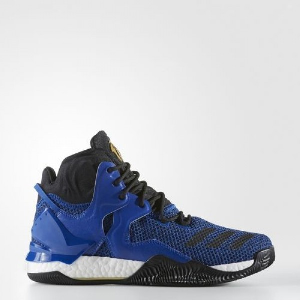 Adidas D Rose 7 Homme Blue Solid/Core Black/Gold M...