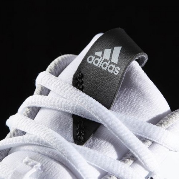 Adidas Crazy Hustle Homme Footwear White/Silver Metallic/Lgh Solid Grey Basketball Chaussures NO: BW0559