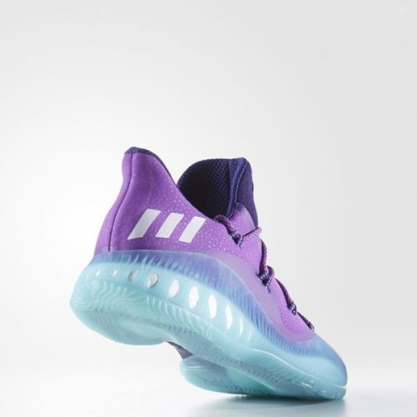 Adidas Crazy Explosive Low Homme Collegiate Purple/Footwear White/Easy Mint Basketball Chaussures NO: BB8363