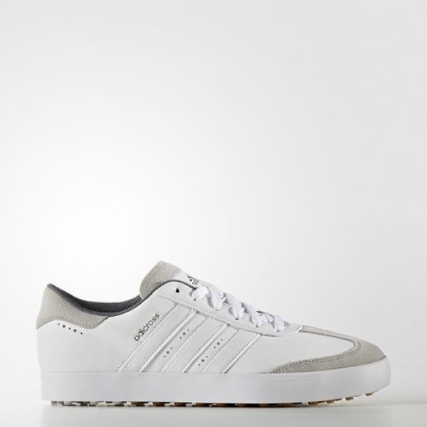 Adidas Adicross V Homme Footwear White/Gum Golf Ch...