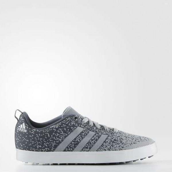 Adidas Adicross Primeknit Homme Clear Onix / Onix / Ftwr White Golf Chaussures NO: F33395