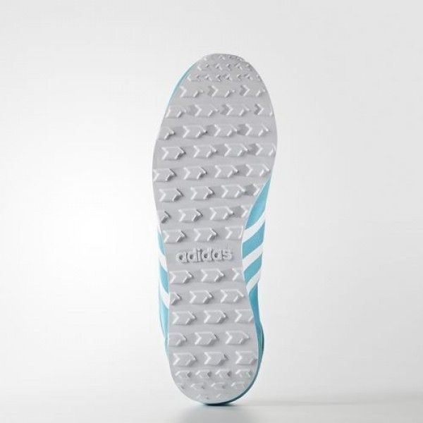 Adidas Cloudfoam Groove Tm Femme Energy Blue/Footwear White/Clear Aqua neo Chaussures NO: B74691