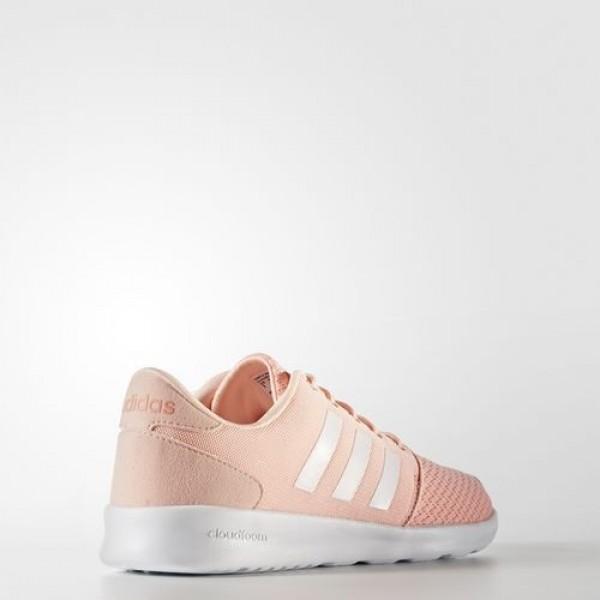 Adidas Cloudfoam Qt Racer Femme Haze Coral/Footwear White/Sun Glow neo Chaussures NO: AW4005