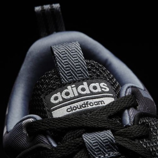 Adidas Cloudfoam Lite Racer Homme Core Black/Onix/Dark Grey Heather Solid Grey neo Chaussures NO: AW4032