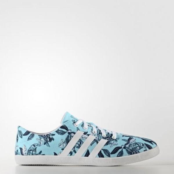 Adidas Cloudfoam Qt Vulc Femme Clear Aqua/Footwear...